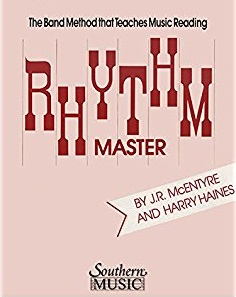 The band method that teaches music reading rhythm master